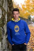 22 October 2020; Pictured is Tipperary hurler Padraic Maher, who today was on hand to launch a landmark partnership between the GAA and Dublin based company, The Marketing Hub. The partnership will see The Marketing Hub become the GAA's first licensed leisurewear supplier. The clothing collection will feature a wide range of items specifically created for GAA fans in 31 counties as well as New York and London. The various county ranges will be exclusively available online at www.ganzee.ie. Photo by Piaras Ó Mídheach/Sportsfile