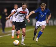 22 October 2020; Sean Murray of Dundalk in action against Erling Knudtzon of Molde FK during the UEFA Europa League Group B match between Dundalk and Molde FK at Tallaght Stadium in Dublin. Photo by Ben McShane/Sportsfile