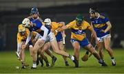 19 October 2020; Eoghan Connolly of Tipperary tries to gather possession during the Bord Gáis Energy Munster Hurling Under 20 Championship Quarter-Final match between Tipperary and Clare at Semple Stadium in Thurles, Tipperary. Photo by Piaras Ó Mídheach/Sportsfile