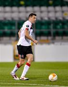 22 October 2020; Brian Gartland of Dundalk during the UEFA Europa League Group B match between Dundalk and Molde FK at Tallaght Stadium in Dublin. Photo by Seb Daly/Sportsfile