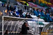 22 October 2020; Dundalk interim head coach Filippo Giovagnoli during the UEFA Europa League Group B match between Dundalk and Molde FK at Tallaght Stadium in Dublin. Photo by Ben McShane/Sportsfile