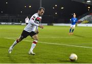 22 October 2020; Stefan Colovic of Dundalk during the UEFA Europa League Group B match between Dundalk and Molde FK at Tallaght Stadium in Dublin. Photo by Ben McShane/Sportsfile