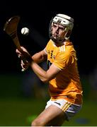 21 October 2020; Sean Elliott of Antrim during the Bord Gáis Energy Leinster GAA Hurling U20 Championship Round 1 match between Antrim and Dublin at Louth Centre of Excellence, Darver in Louth. Photo by Eóin Noonan/Sportsfile