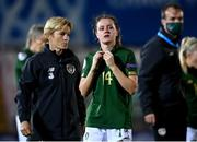 23 October 2020; Heather Payne of Republic of Ireland following the UEFA Women's EURO 2022 Qualifier match between Ukraine and Republic of Ireland at the Obolon Arena in Kyiv, Ukraine. Photo by Stephen McCarthy/Sportsfile