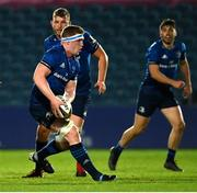 23 October 2020; Dan Leavy of Leinster during the Guinness PRO14 match between Leinster and Zebre at the RDS Arena in Dublin. Photo by Ramsey Cardy/Sportsfile