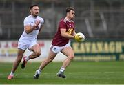 24 October 2020; Jamie Gonoud of Westmeath is chased by Fergal Conway of Kildare during the Allianz Football League Division 2 Round 7 match between Kildare and Westmeath at St Conleth's Park in Newbridge, Kildare. Photo by Piaras Ó Mídheach/Sportsfile