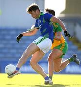 24 October 2020; David Clifford of Kerry in action against Brendan McCole of Donegal during the Allianz Football League Division 1 Round 7 match between Kerry and Donegal at Austin Stack Park in Tralee, Kerry. Photo by Matt Browne/Sportsfile