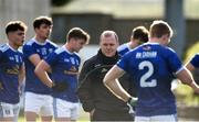24 October 2020; A dejected Cavan manager Mickey Graham after the Allianz Football League Division 2 Round 7 match between Cavan and Roscommon at Kingspan Breffni Park in Cavan. Photo by Daire Brennan/Sportsfile