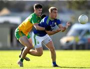 24 October 2020; Stephen O'Brien of Kerry in action against Ethan O'Donnell of Donegal during the Allianz Football League Division 1 Round 7 match between Kerry and Donegal at Austin Stack Park in Tralee, Kerry. Photo by Matt Browne/Sportsfile