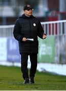 24 October 2020; Sligo Rovers manager Liam Buckley during the SSE Airtricity League Premier Division match between Sligo Rovers and Cork City at The Showgrounds in Sligo. Photo by Harry Murphy/Sportsfile