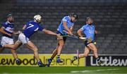 24 October 2020; Donal Burke of Dublin shoots past Ryan Mullaney of Laois to score a goal in the 24th minute during the Leinster GAA Hurling Senior Championship Quarter-Final match between Laois and Dublin at Croke Park in Dublin. Photo by Ray McManus/Sportsfile
