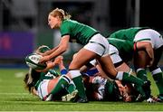 24 October 2020; Kathryn Dane of Ireland during the Women's Six Nations Rugby Championship match between Ireland and Italy at Energia Park in Dublin. Due to current restrictions laid down by the Irish government to prevent the spread of coronavirus and to adhere to social distancing regulations, all sports events in Ireland are currently held behind closed doors. Photo by Brendan Moran/Sportsfile