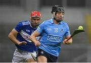 24 October 2020; Donal Burke of Dublin gets away from Jack Kelly of Laois during the Leinster GAA Hurling Senior Championship Quarter-Final match between Laois and Dublin at Croke Park in Dublin. Photo by Piaras Ó Mídheach/Sportsfile