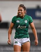 24 October 2020; Sene Naoupu of Ireland during the Women's Six Nations Rugby Championship match between Ireland and Italy at Energia Park in Dublin. Due to current restrictions laid down by the Irish government to prevent the spread of coronavirus and to adhere to social distancing regulations, all sports events in Ireland are currently held behind closed doors. Photo by Ramsey Cardy/Sportsfile