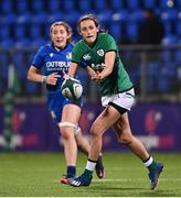 24 October 2020; Hannah Tyrrell of Ireland during the Women's Six Nations Rugby Championship match between Ireland and Italy at Energia Park in Dublin. Due to current restrictions laid down by the Irish government to prevent the spread of coronavirus and to adhere to social distancing regulations, all sports events in Ireland are currently held behind closed doors. Photo by Ramsey Cardy/Sportsfile