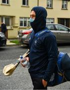 25 October 2020; David Reidy of Clare arrives for the Munster GAA Hurling Senior Championship Quarter-Final match between Limerick and Clare at Semple Stadium in Thurles, Tipperary. This game also doubles up as the Allianz Hurling League Division 1 Final as the GAA season was shortened due to the coronavirus pandemic and both teams had qualified for the final. Photo by Ray McManus/Sportsfile
