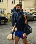 25 October 2020; Tony Kelly of Clare arrives for the Munster GAA Hurling Senior Championship Quarter-Final match between Limerick and Clare at Semple Stadium in Thurles, Tipperary. This game also doubles up as the Allianz Hurling League Division 1 Final as the GAA season was shortened due to the coronavirus pandemic and both teams had qualified for the final. Photo by Ray McManus/Sportsfile