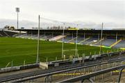 25 October 2020; A general view of the stadium before the Munster GAA Hurling Senior Championship Quarter-Final match between Limerick and Clare at Semple Stadium in Thurles, Tipperary. This game also doubles up as the Allianz Hurling League Division 1 Final as the GAA season was shortened due to the coronavirus pandemic and both teams had qualified for the final. Photo by Ray McManus/Sportsfile