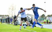 25 October 2020; Daryl Murphy of Waterford in action against Brian Gartland of Dundalk during the SSE Airtricity League Premier Division match between Waterford and Dundalk at RSC in Waterford. Photo by Sam Barnes/Sportsfile
