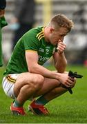 25 October 2020; Ronan Ryan of Meath looks dejected following the Allianz Football League Division 1 Round 7 match between Monaghan and Meath at St Tiernach's Park in Clones, Monaghan. Photo by Harry Murphy/Sportsfile