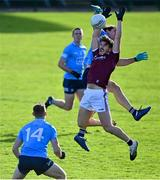 25 October 2020; Shane Walsh of Galway in action against David Byrne of Dublin during the Allianz Football League Division 1 Round 7 match between Galway and Dublin at Pearse Stadium in Galway. Photo by Ramsey Cardy/Sportsfile