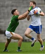 25 October 2020; Conor McManus of Monaghan is tackled by David Toner of Meath during the Allianz Football League Division 1 Round 7 match between Monaghan and Meath at St Tiernach's Park in Clones, Monaghan. Photo by Harry Murphy/Sportsfile