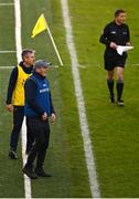 25 October 2020; Clare manager Brian Lohan during the Munster GAA Hurling Senior Championship Quarter-Final match between Limerick and Clare at Semple Stadium in Thurles, Tipperary. This game also doubles up as the Allianz Hurling League Division 1 Final as the GAA season was shortened due to the coronavirus pandemic and both teams had qualified for the final. Photo by Eóin Noonan/Sportsfile