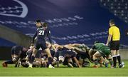 25 October 2020; The two sides compete in the scrum during the Guinness PRO14 match between Edinburgh and Connacht at BT Murrayfield in Edinburgh, Scotland. Photo by Paul Devlin/Sportsfile