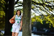 27 October 2020; Ireland senior women's co-captain, Edel Thornton, in attendance at the sponsorship announcement of Gotham Drywall and the Ireland senior women's team. The initial one-year deal will see the New York-based construction company support the team through to the 2021 FIBA Women's European Championship for Small Countries, which take place in Cyprus on June 15th-21st. Photo by Piaras Ó Mídheach/Sportsfile