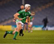 25 October 2020; Kyle Hayes of Limerick during the Munster GAA Hurling Senior Championship Quarter-Final match between Limerick and Clare at Semple Stadium in Thurles, Tipperary. This game also doubles up as the Allianz Hurling League Division 1 Final as the GAA season was shortened due to the coronavirus pandemic and both teams had qualified for the final. Photo by Ray McManus/Sportsfile