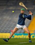 25 October 2020; Nickie Quaid of Limerick during the Munster GAA Hurling Senior Championship Quarter-Final match between Limerick and Clare at Semple Stadium in Thurles, Tipperary. This game also doubles up as the Allianz Hurling League Division 1 Final as the GAA season was shortened due to the coronavirus pandemic and both teams had qualified for the final. Photo by Ray McManus/Sportsfile