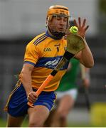 25 October 2020; David Reidy of Clare during the Munster GAA Hurling Senior Championship Quarter-Final match between Limerick and Clare at Semple Stadium in Thurles, Tipperary. This game also doubles up as the Allianz Hurling League Division 1 Final as the GAA season was shortened due to the coronavirus pandemic and both teams had qualified for the final. Photo by Ray McManus/Sportsfile