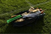 25 October 2020; Torpey hurleys in a sports bag before the Munster GAA Hurling Senior Championship Quarter-Final match between Limerick and Clare at Semple Stadium in Thurles, Tipperary. This game also doubles up as the Allianz Hurling League Division 1 Final as the GAA season was shortened due to the coronavirus pandemic and both teams had qualified for the final. Photo by Ray McManus/Sportsfile