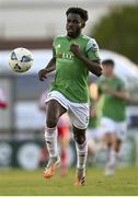24 October 2020; Henry Ochieng of Cork City during the SSE Airtricity League Premier Division match between Sligo Rovers and Cork City at The Showgrounds in Sligo. Photo by Harry Murphy/Sportsfile