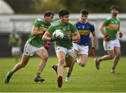 25 October 2020; Domhnaill Flynn of Leitrim during the Allianz Football League Division 3 Round 7 match between Leitrim and Tipperary at Avantcard Páirc Sean Mac Diarmada in Carrick-on-Shannon, Leitrim. Photo by Seb Daly/Sportsfile