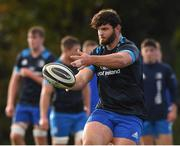 28 October 2020; Michael Milne during Leinster Rugby squad training at UCD in Dublin. Photo by Matt Browne/Sportsfile