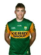 27 October 2020; Dara Moynihan during a Kerry Football squad portraits session at the Kerry GAA Centre of Excellence in Currans, Kerry. Photo by Brendan Moran/Sportsfile
