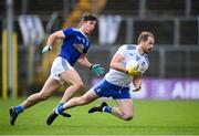 31 October 2020; Conor Boyle of Monaghan in action against Killian Brady of Cavan during the Ulster GAA Football Senior Championship Preliminary Round match between Monaghan and Cavan at St Tiernach's Park in Clones, Monaghan. Photo by Stephen McCarthy/Sportsfile
