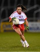 30 October 2020; Niamh Hughes of Tyrone during the TG4 All-Ireland Senior Ladies Football Championship Round 1 match between Tyrone and Armagh at Kingspan Breffni Park in Cavan. Photo by Stephen McCarthy/Sportsfile