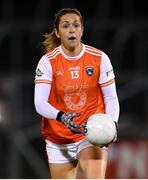 30 October 2020; Caroline O'Hanlon of Armagh during the TG4 All-Ireland Senior Ladies Football Championship Round 1 match between Tyrone and Armagh at Kingspan Breffni Park in Cavan. Photo by Stephen McCarthy/Sportsfile