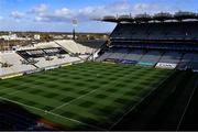 31 October 2020; A general view of Croke Park before the Leinster GAA Hurling Senior Championship Semi-Final match between Galway and Wexford at Croke Park in Dublin. Photo by Ray McManus/Sportsfile