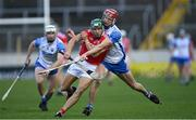 31 October 2020; Alan Cadogan of Cork in action against Calum Lyons of Waterford during the Munster GAA Hurling Senior Championship Semi-Final match between Cork and Waterford at Semple Stadium in Thurles, Tipperary. Photo by Piaras Ó Mídheach/Sportsfile