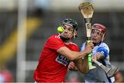 31 October 2020; Mark Coleman of Cork shoots under pressure from Calum Lyons of Waterford during the Munster GAA Hurling Senior Championship Semi-Final match between Cork and Waterford at Semple Stadium in Thurles, Tipperary. Photo by Piaras Ó Mídheach/Sportsfile
