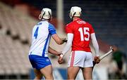31 October 2020; Patrick Horgan of Cork is marked tightly by Shane McNulty of Waterford during the Munster GAA Hurling Senior Championship Semi-Final match between Cork and Waterford at Semple Stadium in Thurles, Tipperary. Photo by Piaras Ó Mídheach/Sportsfile