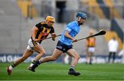 31 October 2020; Riain McBride of Dublin in action against Richie Reid of Kilkenny during the Leinster GAA Hurling Senior Championship Semi-Final match between Dublin and Kilkenny at Croke Park in Dublin. Photo by Daire Brennan/Sportsfile