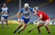 31 October 2020; Dessie Hutchinson of Waterford in action against Seán O'Donoghue of Cork during the Munster GAA Hurling Senior Championship Semi-Final match between Cork and Waterford at Semple Stadium in Thurles, Tipperary. Photo by Brendan Moran/Sportsfile