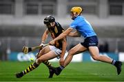 31 October 2020; Walter Walsh of Kilkenny in action against Daire Gray of Dublin during the Leinster GAA Hurling Senior Championship Semi-Final match between Dublin and Kilkenny at Croke Park in Dublin. Photo by Daire Brennan/Sportsfile