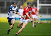 31 October 2020; Mark Coleman of Cork in action against Jamie Barron of Waterford during the Munster GAA Hurling Senior Championship Semi-Final match between Cork and Waterford at Semple Stadium in Thurles, Tipperary. Photo by Piaras Ó Mídheach/Sportsfile