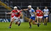 31 October 2020; Patrick Horgan of Cork in action against Shane Fives of Waterford during the Munster GAA Hurling Senior Championship Semi-Final match between Cork and Waterford at Semple Stadium in Thurles, Tipperary. Photo by Brendan Moran/Sportsfile
