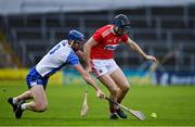 31 October 2020; Conor Lehane of Cork in action against Conor Prunty of Waterford during the Munster GAA Hurling Senior Championship Semi-Final match between Cork and Waterford at Semple Stadium in Thurles, Tipperary. Photo by Brendan Moran/Sportsfile